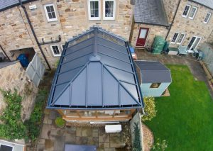 solid conservatory roof, Upminster